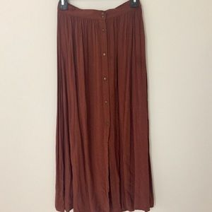 High Waisted Maxi Skirt Forever 21 Contemporary
